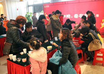 塔坛商贸城副总经理姚刚先生致辞 山西省晋中市旅游局领导致欢迎辞 了